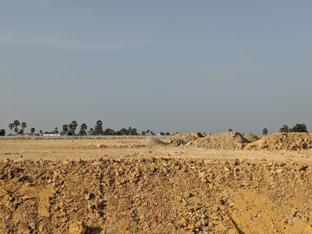 カンボジア土地開発