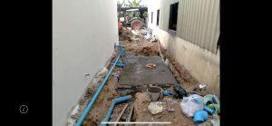 カンボジアプノンペンの浄化槽