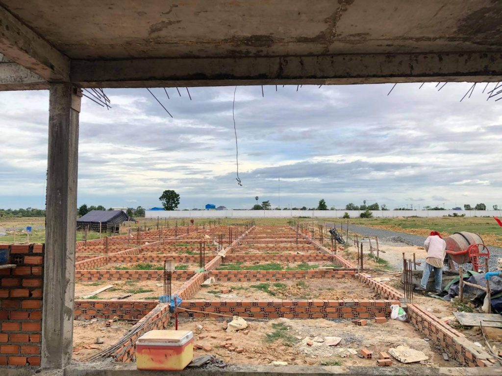 カンボジアの住宅への投資