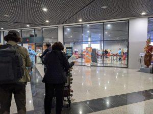 カンボジアコロナ禍の空港