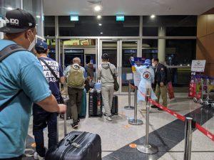 カンボジアコロナ禍の空港の状況
