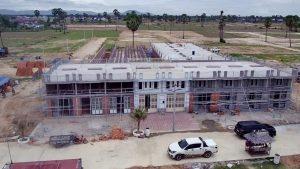 カンボジア国道3号線30戸集合住宅