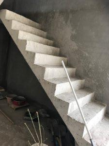 カンボジアの階段