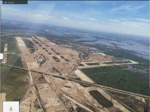 カンボジア新空港建設